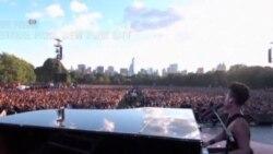 美国万花筒:纽约慈善音乐会吸引数万人参加;带您探访具有怀旧风情的康尼岛 (Coney Island)