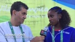 Lidiane Lopes: Atleta cabo-verdiana ficou pelo caminho