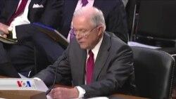 Wezîrê Dadê Sessions li Pêş Kongresê Bû
