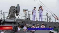 Tàu hộ vệ Nhật Bản thăm cảng Hải Phòng