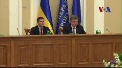 Tổng thống Ukraine ra mắt kế hoạch hòa bình