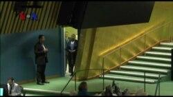 Pidato Wapres RI Jusuf Kalla di Markas Besar PBB New York