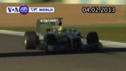 Mercedes ra mắt chiếc Formula One mới, tên F1 W04 (VOA60)