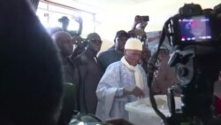 Abdoulaye Wadevote aux élections législatives (vidéo)