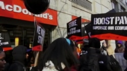 Fast Food Workers Demand Sustainable Wage, End to Exploitation