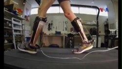 Khung hỗ trợ không động cơ giúp đi bộ dễ dàng hơn