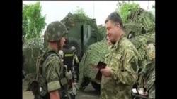 烏克蘭總統誓言奪回東烏克蘭領土