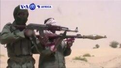 Imitwe ifite Intwaro yanze kuva mu mujyi wa Timbuktu muri Mali
