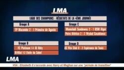 Page sports : résultats de la 4ème journée de la Ligue africaine des Champions