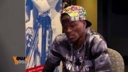 Debordo Leekunfa en interview sur VOA Afrique