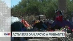 Autoridades desmantelan campamento de migrantes haitianos en Del Río, Texas