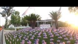 南加居民在家打造9/11纪念园
