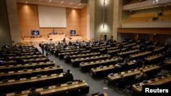 EE.UU. se retiró del Consejo de Derechos Humanos de la ONU en 2018 durante la administración del presidente Donald Trump.
