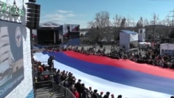 Crimea Marks Anniversary Of Russian Annexation, As Western Sanctions Tighten Grip