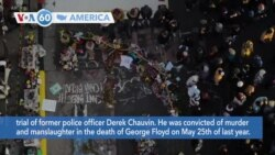 VOA60 America - Officials in the U.S. and overseas voice wide support for Chauvin conviction in George Floyd murder