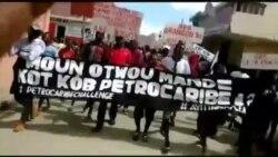 Manifestasyon nan Pòtoprens nan okazyon 17 Oktòb la