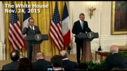 Obama: US, France 'United' in Fight Against Terrorism