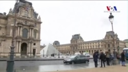 Louvre Müzesi'nde Terör Paniği