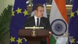 سفر رییس جمهوری فرانسه به هند