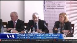 Lufta kunder korrupsionit ne Kosove