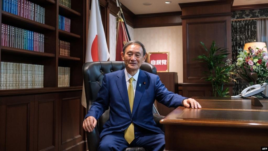 资料照:日本首相菅义伟