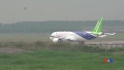 2017-05-05 美國之音視頻新聞: 中國稱自製客機已經首航 (粵語)