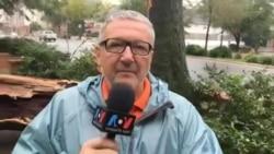 """Последние часы жизни урагана """"Ирма"""""""