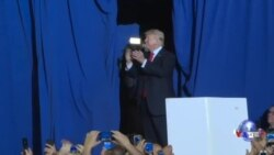 川普执政百日:民调一般,支持者满意