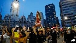 Мешканці Філадельфії на протесті 2 червня 2020 року.