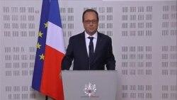 Déclaration de François Hollande sur le crash de l'appareil de la compagnie Germanwings