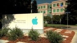 Manifestantes respaldan a Apple