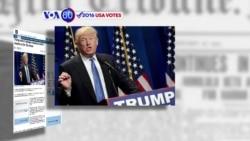 Manchetes Americanas 14 Setembro: D. Trump não revela resultados de exames médicos