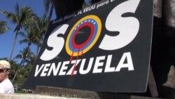 Venezolanos sorprendidos por reacción de EEUU
