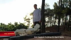 Cựu TGM Ngô Quang Kiệt thăm hỏi Đan viện Thiên An