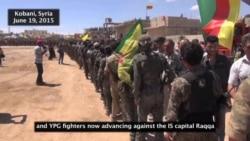 Syrian Kurds Celebrate YPG Victories
