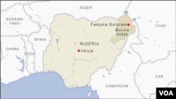Karta Nigerije