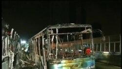 中国公交车大火48死33伤