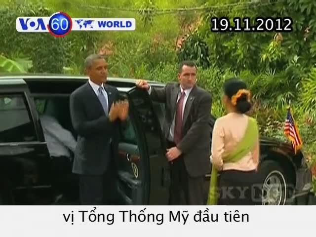 VOA60 Thế Giới 19/11/2012