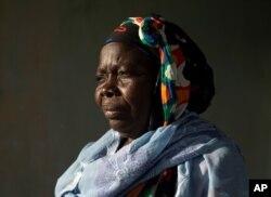 Ndeye Yacine Dieng poses at her home in Bargny, Senegal, Apr. 26, 2021.
