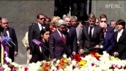 Actor Clooney Honors Massacred Armenians