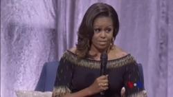 လန္ဒန္ေရာက္ Michelle Obama