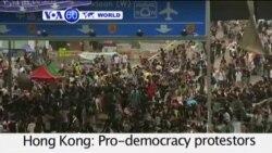 VOA60 Duniya: Masu Rajin Demokuradiyya a Hong Kong Suna ci Gaba da Zanga Zanga, Octokba 2, 2014