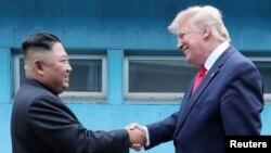 Trump da Jong Un
