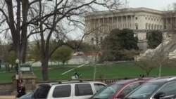 Unauthorized Gyrocopter Lands on U.S. Capitol Grounds