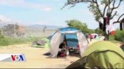 Makedonya Sınırında 12 Bin Mülteci Bekliyor