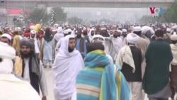 'آزادی مارچ' کا اسلام آباد میں پہلا دن