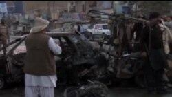 2013-10-31 美國之音視頻新聞: 巴基斯坦炸彈爆炸炸死4人