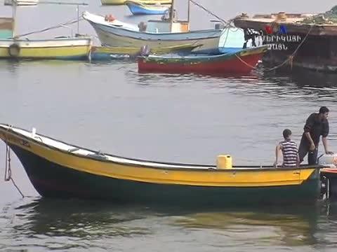 Ձկնորսները Գազայի գոտում