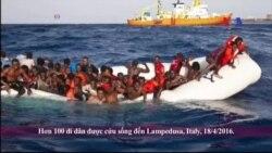LHQ: 500 di dân có thể đã chết đuối ở Địa Trung Hải