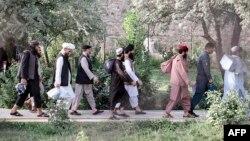 Kelompok terakhir yang terdiri dari sekitar 400 tahanan Taliban telah dibebaskan, mengakhiri pertukaran yang berlarut-larut antara dua pihak yang bermusuhan. (Foto:Afghanistan's National Security Council (NSC) / AFP)